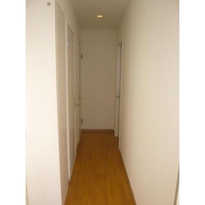 ハイツCNの廊下