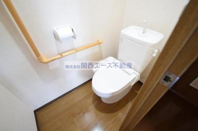 【トイレ】ヴェルデュール石切