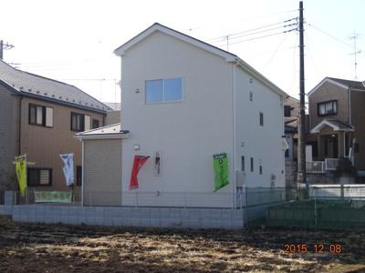 【外観】さいたま市緑区三室 新築分譲住宅全1棟