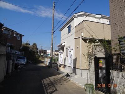 【前面道路含む現地写真】さいたま市緑区三室 新築分譲住宅全1棟