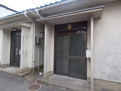 【エントランス】中村町2戸1貸家