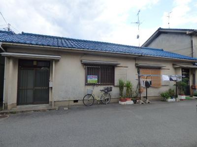 【外観】中村町2戸1貸家