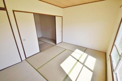 【寝室】小山ハイツ第一