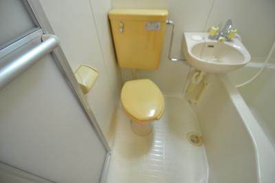 【トイレ】ハイツ高羽
