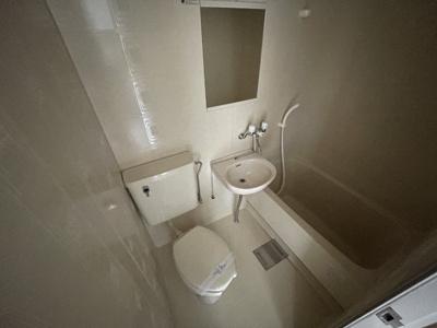 【浴室】朋竹ハイツ