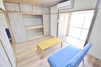 【寝室】新池マンション