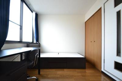 【寝室】六甲K&Aマンション