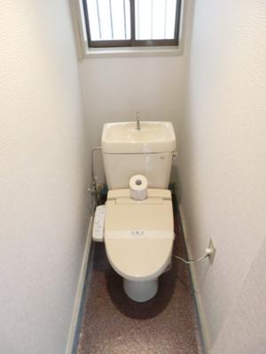 【トイレ】片山ハイツ B棟