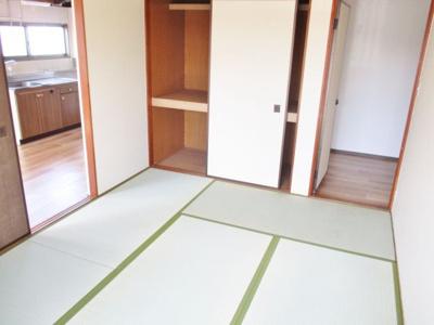 【寝室】グローリーハイツA棟