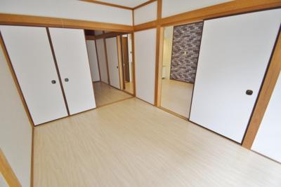 【寝室】田中マンションA棟