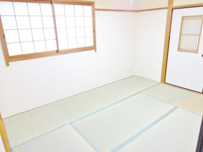 【寝室】コーポ・ナガセ