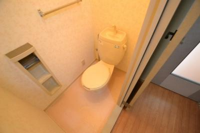 【トイレ】ベルハイツ