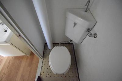 【トイレ】塔の本ハイツ