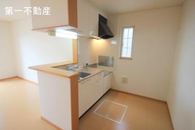 【キッチン】ブライト・ヴィラ