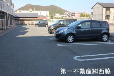 【駐車場】フラットワンA