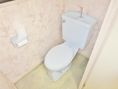 【トイレ】アパートメント翆月