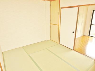 【寝室】アパートメント翆月