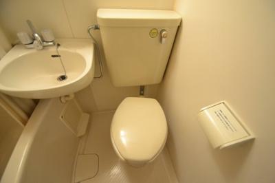 【トイレ】シャルマンフジ灘二番館