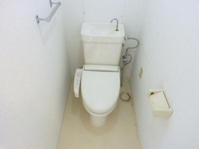 ウォシュレットつきのトイレ♪