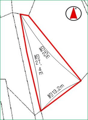 【区画図】うるま市字具志川(57.47坪)