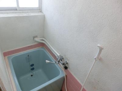 【浴室】長者ハイツ