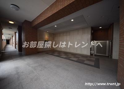 【エントランス】ライオンズガーデンヒルズ早稲田