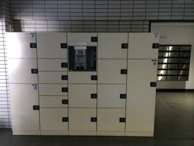恵比寿スカイハイツの宅配ボックスです。