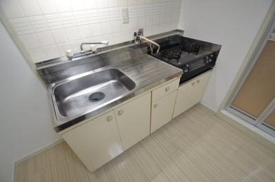 【キッチン】グリーンハイツ山水B棟