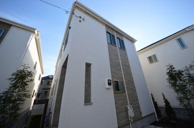 【外観】ブルーミングガーデン喜多見1丁目 新築住宅