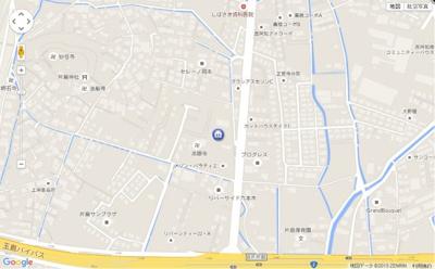 【地図】クオリティーハイム