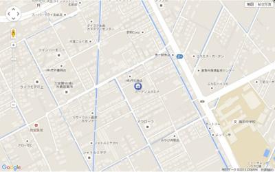 ガーデンスクエア (倉敷市北畝 賃貸アパート) 地図