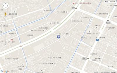 【地図】クレールスクエア