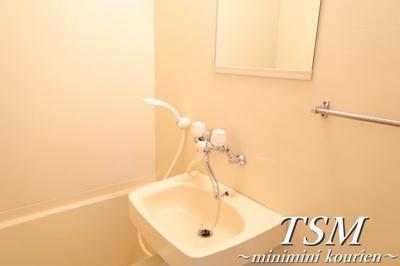 浴室の洗面台