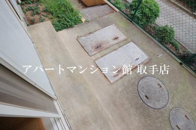 【バルコニー】アーバンハイツ米ノ井
