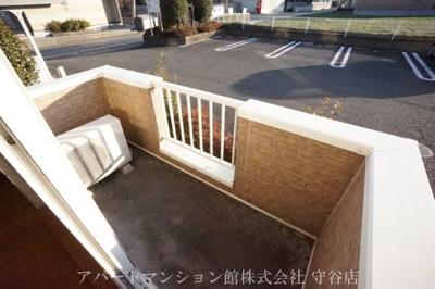 【バルコニー】ガーデン・スクエアA