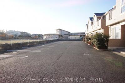 【駐車場】ガーデン・スクエアA