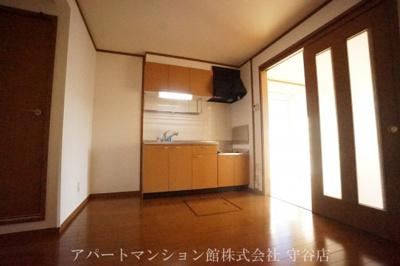 【キッチン】ガーデン・スクエアA