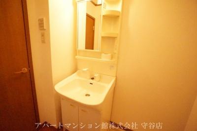 【洗面所】ガーデン・スクエアA