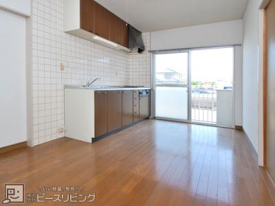 【居間・リビング】八重川コーポ3