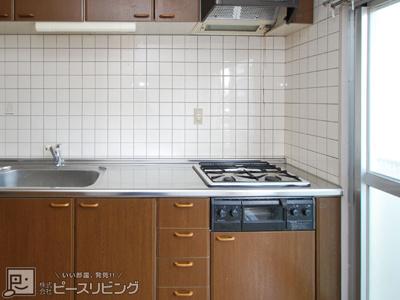 【キッチン】八重川コーポ3