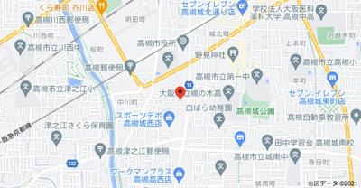 【地図】レジデンス摂津 (株)Roots