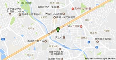 【地図】レジデンス西田 株式会社Roots