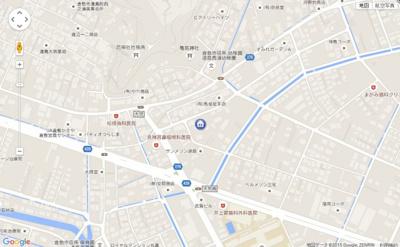 【地図】カーサ・Y