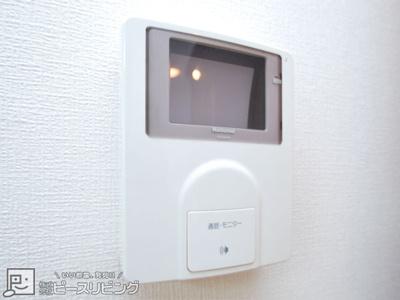 TVモニター付インターホン※同間取り別室の写真です。