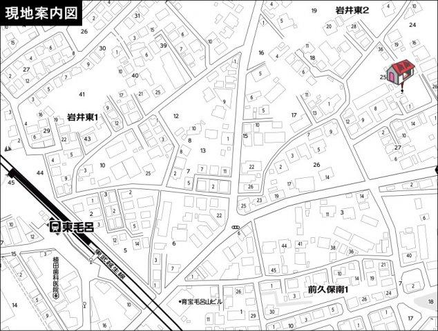 入間郡毛呂山町岩井東2丁目 売地