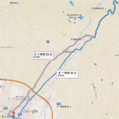 【地図】長野県諏訪郡富士見町立沢広原 売地