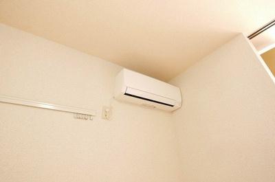 エアコンも設置されております。