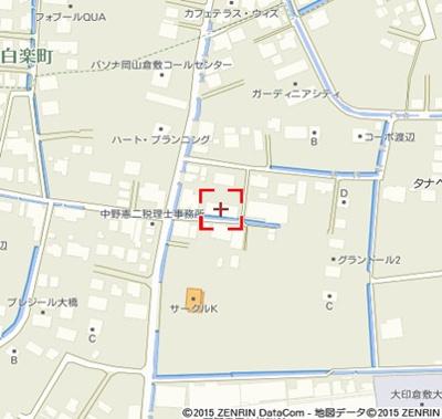 【地図】アーバンヴィラ