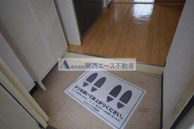 【玄関】ファースト瓢箪山