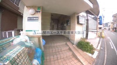 【エントランス】ファースト瓢箪山